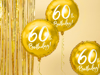 Picture of Gold Foil Balloon 60th Birthday!