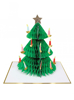 Picture of Christmas card - Honeycomb tree
