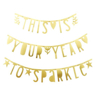 Picture of Letter Banner - Gold