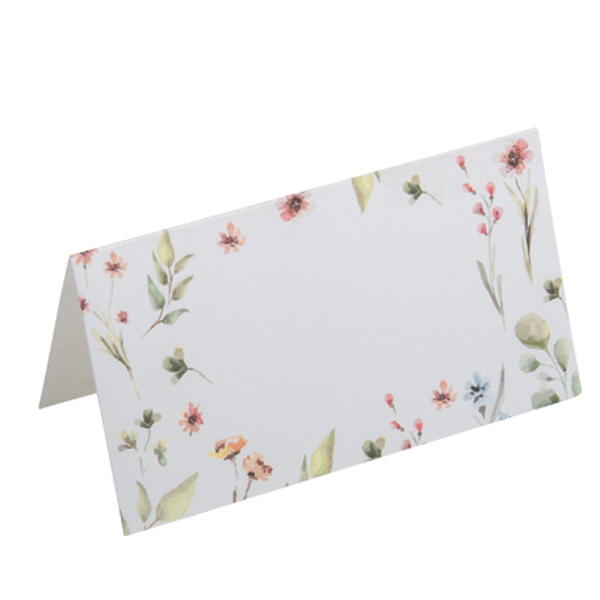 Picture of Place cards floral