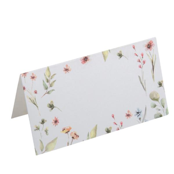 Κάρτες καλεσμένων με λουλούδια