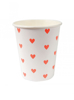 Picture of Paper cups with hearts