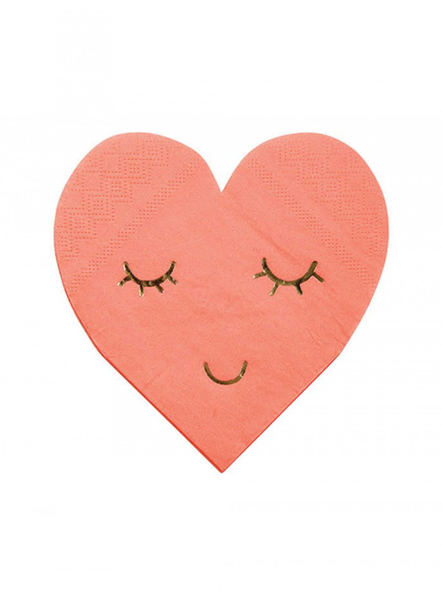 Picture of Paper Napkins - Heart