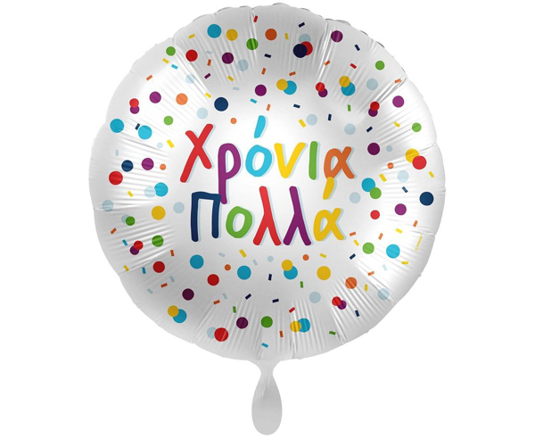 Picture of Foil balloon Xronia Polla colorful