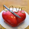 Σετ mini σπινθηροβόλα κεριά - LOVE