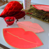 Picture of Paper plates - Lips