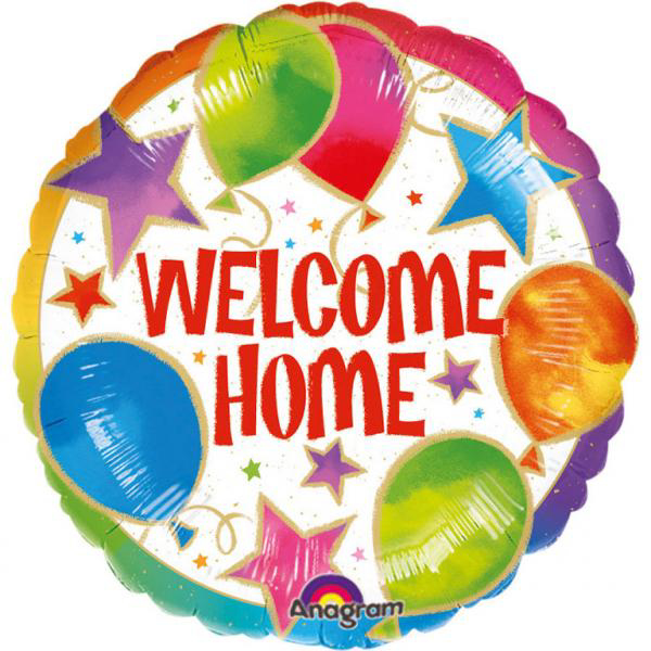 Picture of Foil balloon Welcome Home