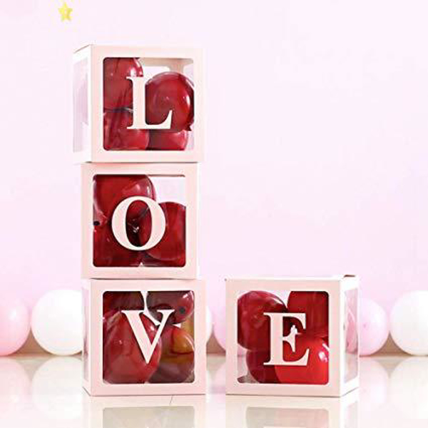 Picture of Pop up blocks decoration - Love