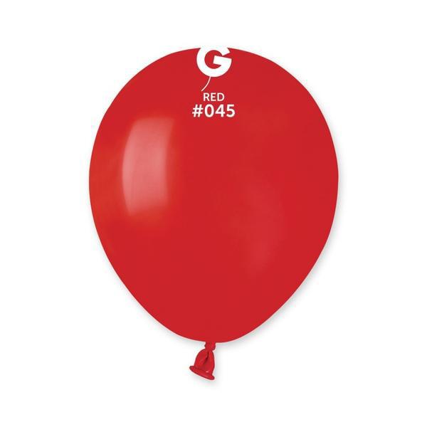 Mini μπαλόνια - Κόκκινο (10τχμ)