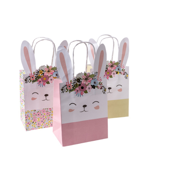 Picture of Party Bags - Floral bunny