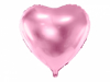 Picture of Heart Foil Balloon - Light Pink