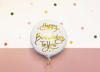 Picture of Foil balloon Ηappy birthday to you