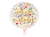 Picture of Foil balloon Ηappy birthday floral