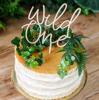Ξύλινο διακοσμητικό για τούρτα - Wild one