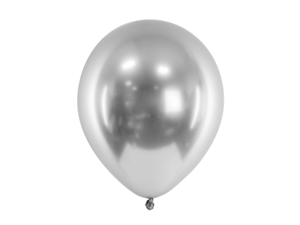 Picture of Balloons - Glossy silver (5pcs)