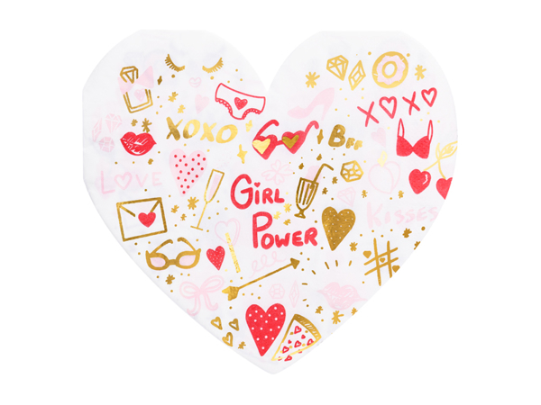 Picture of Paper Napkins - Girl power