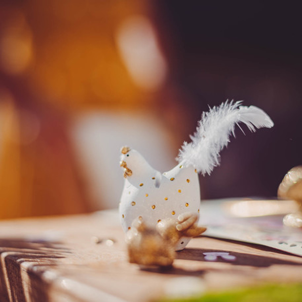 Picture of Place card holders - Decorative hens