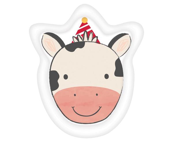 Χάρτινα πιάτα γλυκού - Αγελαδίτσα