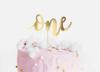 Διακοσμητικό τούρτας χάρτινο - One