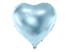 Picture of Heart Foil Balloon - Light Blue