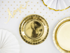 Picture of Side paper plates - Gold