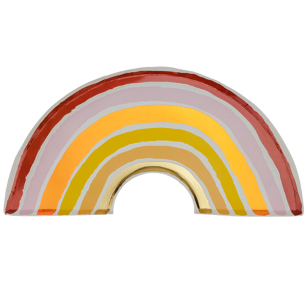Picture of Paper plates - Boho rainbow