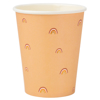 Picture of Paper cups - Boho rainbow