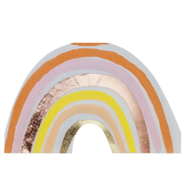 Χαρτοπετσέτες - Boho ουράνιο τόξο