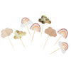 Picture of Cake toppers - Boho rainbow