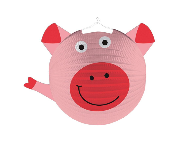 Picture of Paper lantern - Pig
