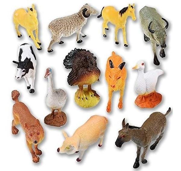 Picture of Mini figures - Farm animals (12pcs)