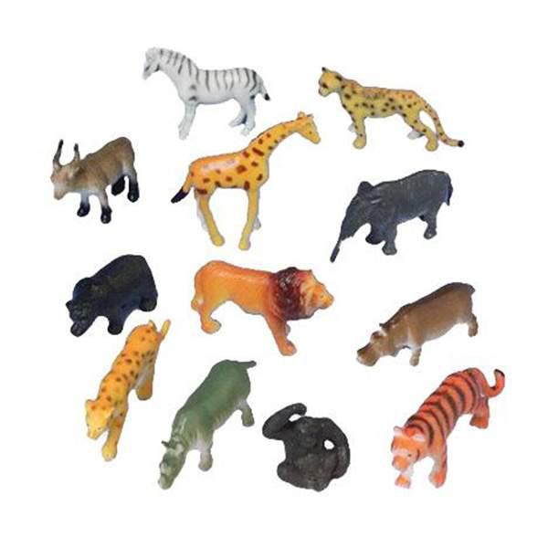 Picture of Mini figures - Jungle animals (12pcs)