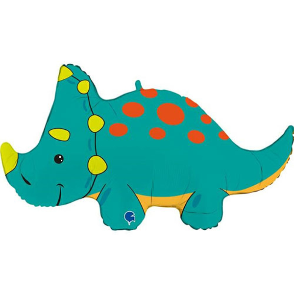 Picture of Foil balloon Triceratops