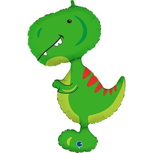 Picture of Foil balloon Tyrannosaurus