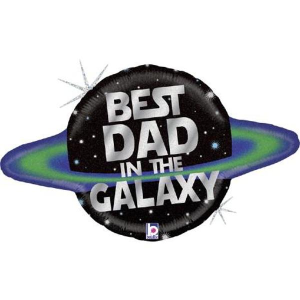 Μπαλόνι Foil Best dad in the galaxy