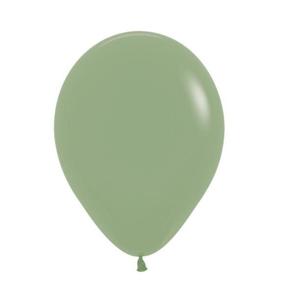 Mini μπαλόνια - Dusty green (10τμχ)