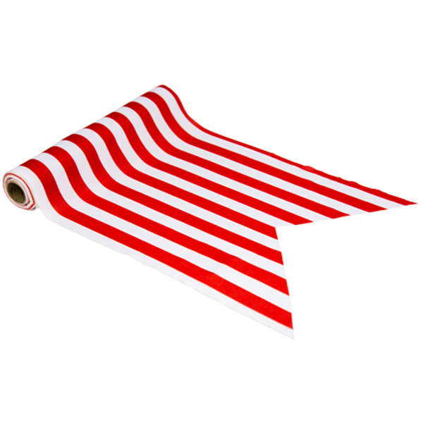 Picture of Τable runner - Red and white stripes