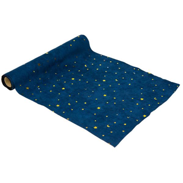 Runner τραπεζιού - Μπλε με αστέρια