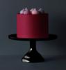 Βάση για τούρτα από μελαμίνη - Μαύρη (S)