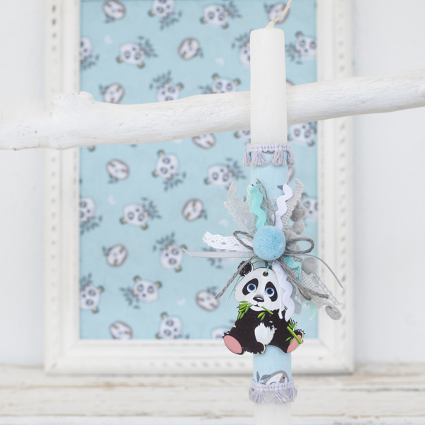Picture of Easter candle - Panda