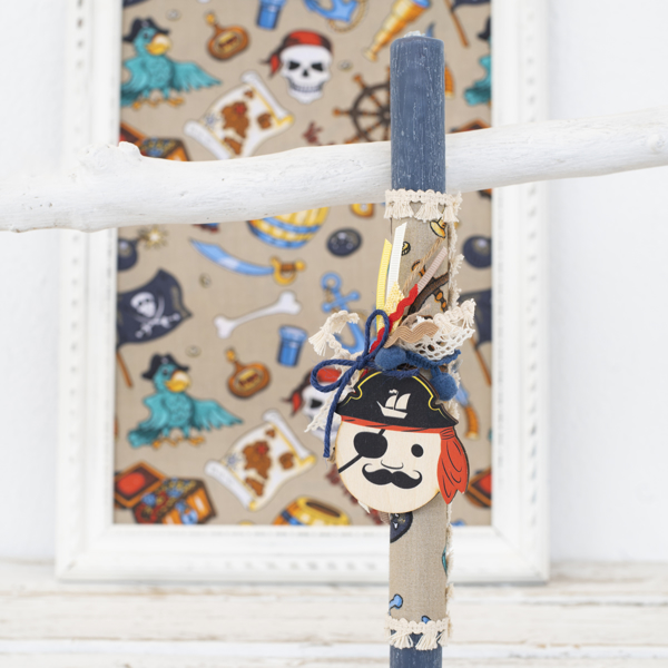 Picture of Easter candle - Pirate
