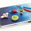 Picture of Set of 4 erasers - Space