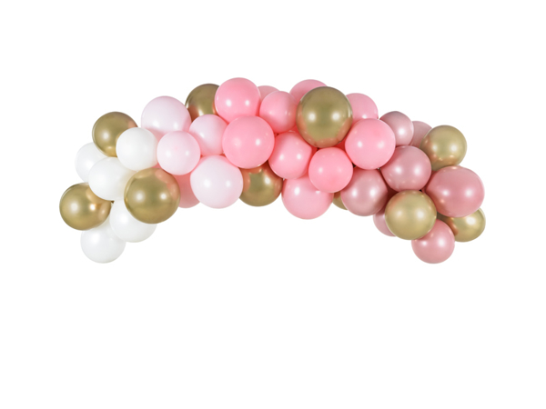 Picture of Balloon garland - Pink