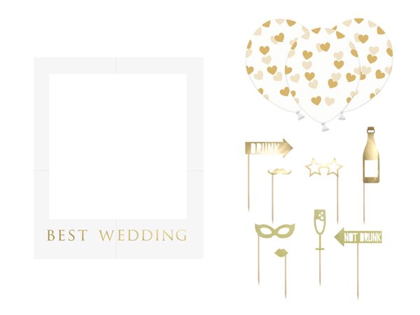 Picture of Selfie photo frame kit - Best wedding