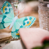 Picture of Decorative butterflies - Mint
