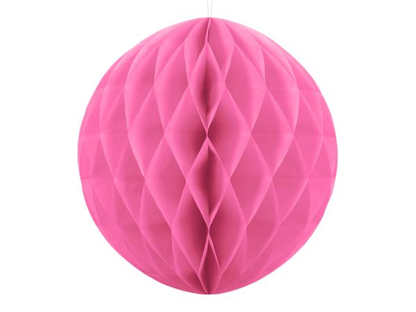 Χάρτινη μπάλα - Ροζ  (30εκ)