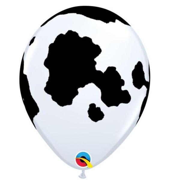 Σετ μπαλόνια - Cow print (5τμχ)
