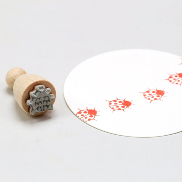 Picture of Rubber Stamp Ladybug