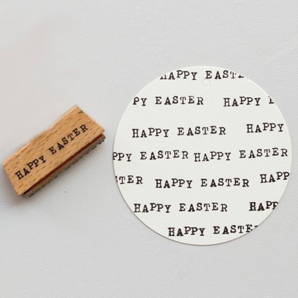 Picture of Rubber Stamp Happy Easter
