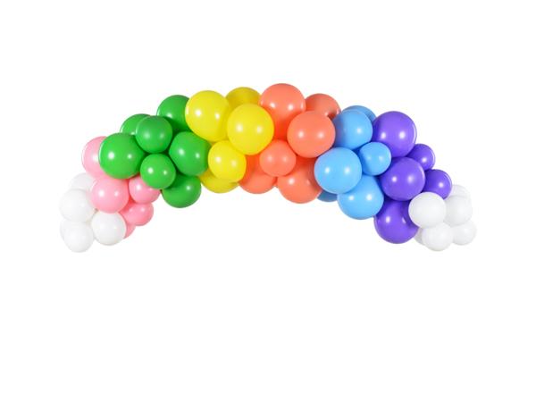 Γιρλάντα με μπαλόνια - Rainbow